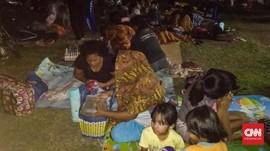 Pengungsi Gempa M 7,1 Ternate dan Minahasa Berangsur Pulang