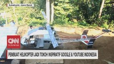 VIDEO: Pembuat Helikopter Jadi Tokoh Inspiratif