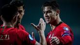 Cristiano Ronaldo kini wajib membawa Portugal untuk menang atas Luksemburg untuk memastikan tiket ke putaran final Piala Eropa 2020.(Photo by PATRICIA DE MELO MOREIRA / AFP)
