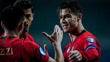 FOTO: Ronaldo Mengejar 100 Gol di Timnas Portugal