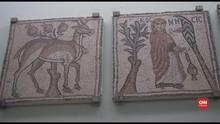 VIDEO: Mosaik Langka di Museum Mosaik Bisantium Libya