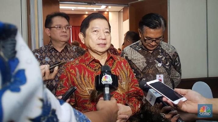 Pertanyaan itu dilontarkan di Kementerian PPN/Bappenas, Jumat (15/11/2019).