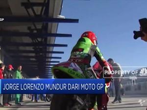 Ini Alasan Jorge Lorenzo Pensiun dari MotoGP