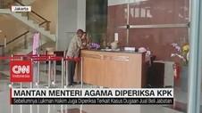VIDEO: Mantan Menteri Agama Lukman Hakim Diperiksa KPK