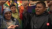 VIDEO: Pendukung Ingin Morales Tetap Jadi Presiden Bolivia