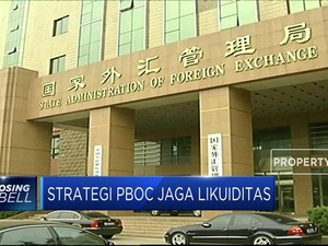 Bank Sentral China Suntik Rp 400 T Ke Lembaga Keuangan
