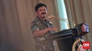 Panglima TNI Mutasi 45 Perwira Tinggi di Akhir Januari