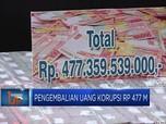 Ini Penampakan Uang Korupsi Setinggi Menara Petronas