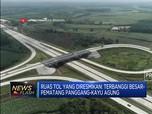 Jokowi Resmikan Jalan Tol Terpanjang di Tanah Air