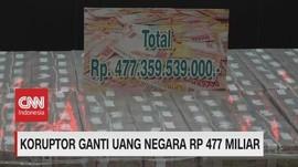 VIDEO: Koruptor Ganti Uang Negara Rp. 477 Miliar
