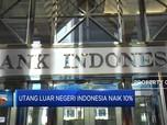 Waduh, Utang Luar Negeri Indonesia Naik 10%