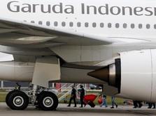 Efisiensi, Garuda Indonesia Rumahkan 800 Tenaga Kontrak