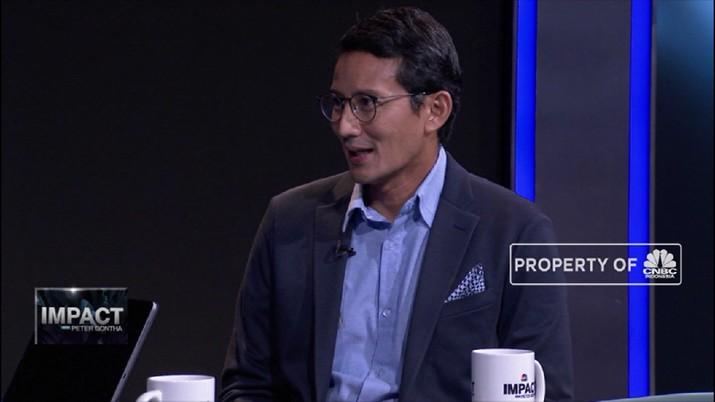 Sandiaga Uno: Saya Akan Terus Di Gerindra  (CNBC Indonesia TV)