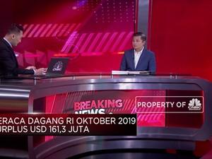 Ekonom: Neraca Dagang Oktober Surplus Sebab Impor Turun Tajam