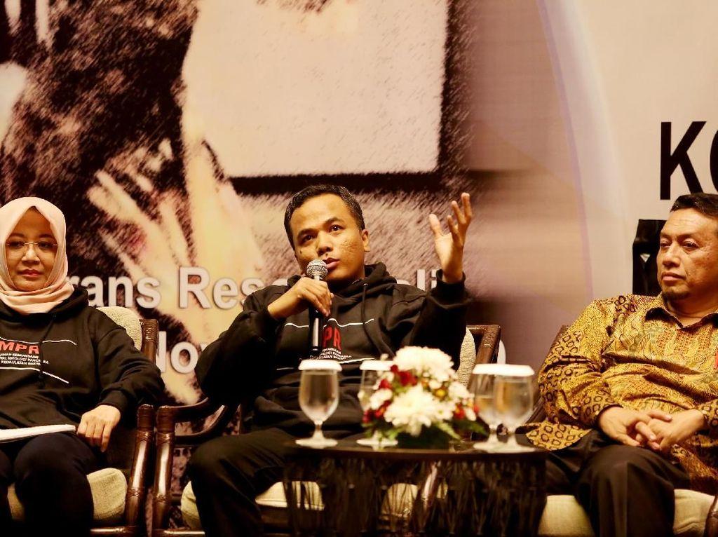 Wakil Ketua MPR Jazilul Fawaid juga turut memaparkan dalam Diskusi tersebut yang salah satunya yakni membahas wacana amandemen UUD 45. Foto: dok. MPR