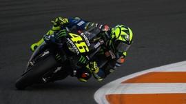 Start Posisi 12, Rossi Tak Yakin Naik Podium MotoGP Valencia