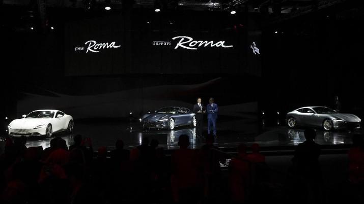 Ferrari kembali keluarkan model baru terbaru dengan desain Grand Tourer klasik pada Kamis, 14 November 2019. Harga berkisar Rp 3,1 triliun.