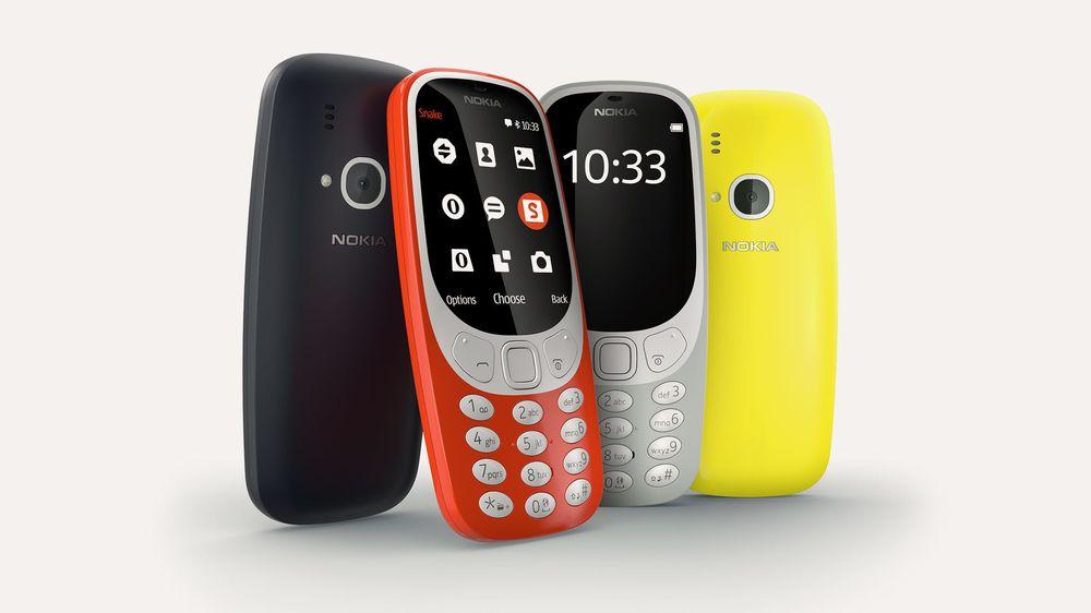 Nokia 3310 (Nokia.com)