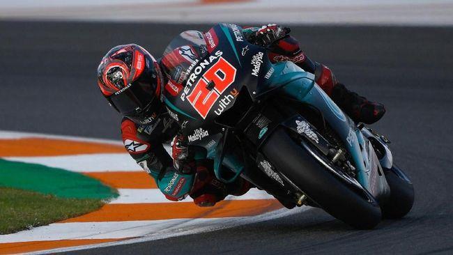 Hasil FP3 MotoGP Valencia: Quartararo Tercepat, Rossi Keempat