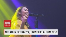 VIDEO: 10 Tahun Berkarya, HIV! Rilis Album Ke-3