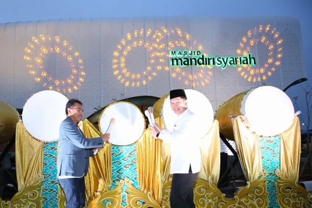 Megahnya Masjid Mandiri Syariah di Tol Cipali