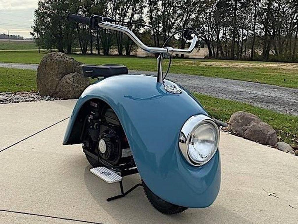 Lampu memiliki desain bulat, layaknya lampu Volkswagen kodok. Foto: Pool (Autoevolution)