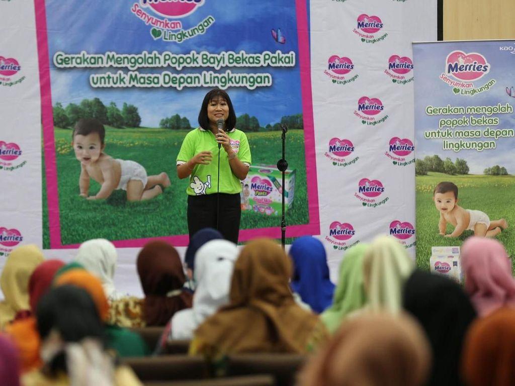 Dukungan mengajak serta 1.000 ibu di 28 posyandu di Jakarta Barat.