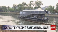 VIDEO: Teknologi Kapal Penyaring Sampah di Sungai