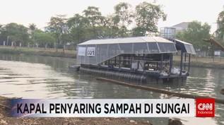 VIDEO: Teknologi Kapal Penyaring Sampah di Sungai