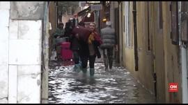 VIDEO: Banjir Genangi 70 Persen Pusat Kota Venesia