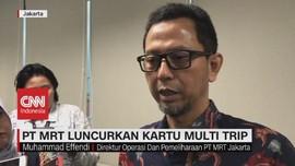 VIDEO: MRT Jakarta Luncurkan Kartu