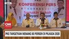 VIDEO: PKS Targetkan Menang 60% di Pilkada 2020