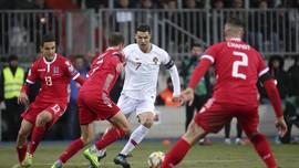Ronaldo Cetak Gol, Portugal Lolos ke Piala Eropa 2020