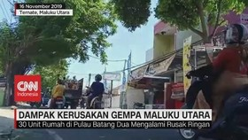 VIDEO: Dampak Kerusakan Akibat Gempa Maluku Utara