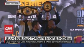 VIDEO: Jelang Duel Daud Yordan Vs Michael Mokoena