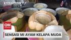 VIDEO: Mencicipi Sensasi Mi Ayam Kelapa Muda