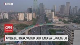 VIDEO: Ini Sosok Insinyur Perancang Jembatan Lengkung LRT