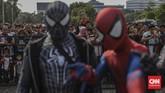 Jakarta Cosplay Parade 2019 menyediakan hadiah mencapai ratusan juta rupiah dari berbagai kategori yang diperlombakan. (CNN Indonesia/Bisma Septalisma)