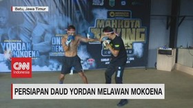 VIDEO: Persiapan Daud Yordan Melawan Mokoena
