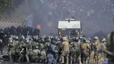 Komisi Hak Asasi Manusia Inter-Amerika (IACHR) melaporkan total 23 orang meninggal dunia akibat demonstrasi yang berujung ricuh di Bolivia. (AP Photo/Dico Solis)