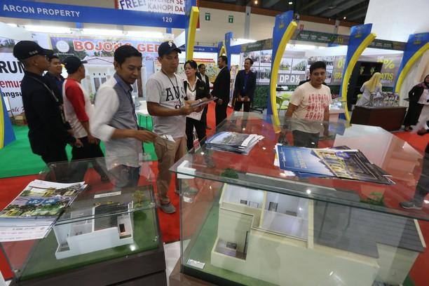 Pameran Properti di JCC Ramai Pengunjung