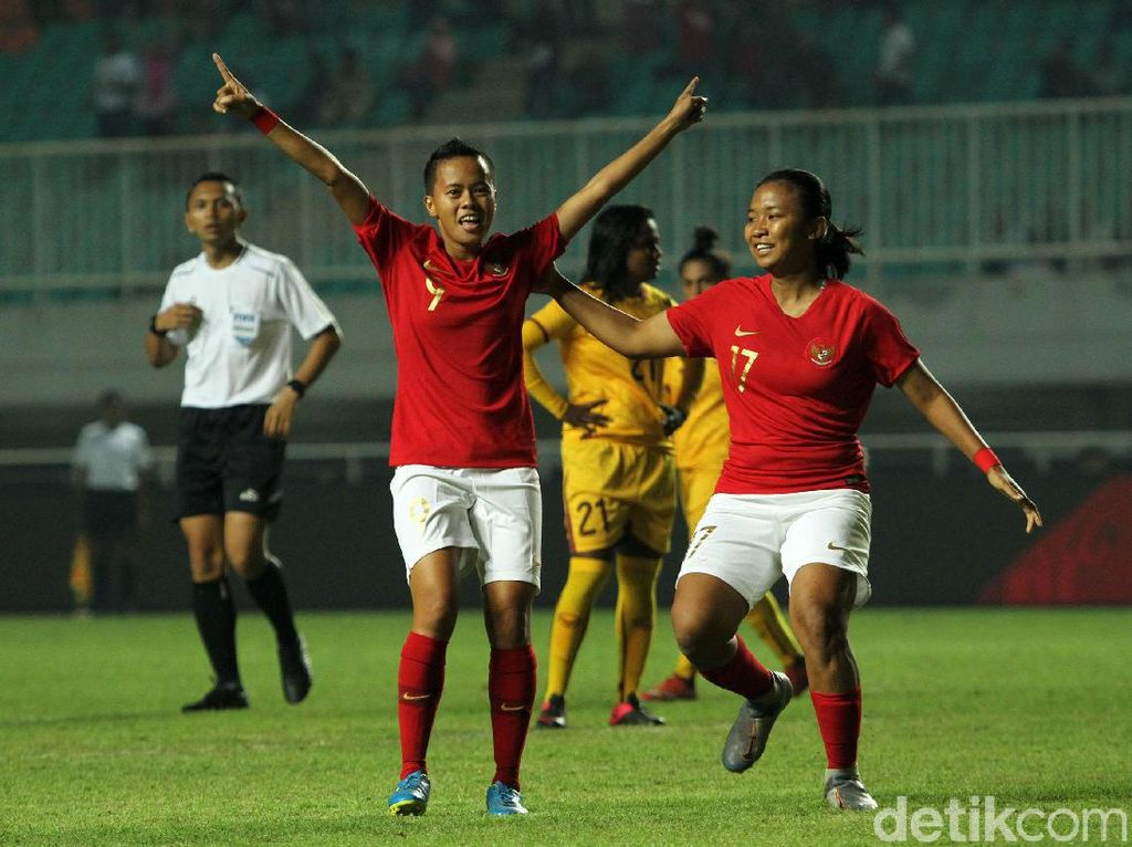 Melihat Lagi Perayaan-perayaan Gol Timnas Putri ke Gawang Sri Lanka
