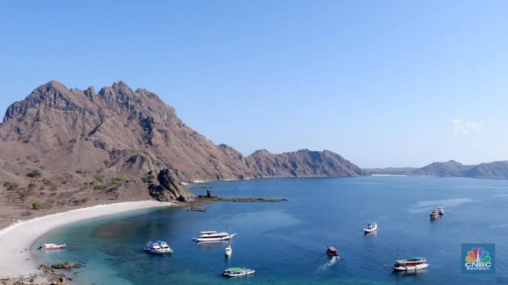 Pulau Padar, Padar Island, Labuan Baju Flores, Pulau Komodo (CNBC Indonesia/Lidya Kembaren)
