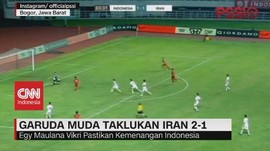 VIDEO: Timnas U-23 Indonesia Taklukan Iran 2-1
