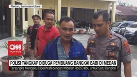 VIDEO: Polisi Tangkap Pembuang Bangkai Babi di Medan