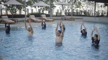Aquarobic, Aerobik di Air untuk Terapi hingga Bakar Kalori