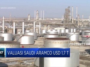 Valuasi Saudi Aramco USD 1,7 T
