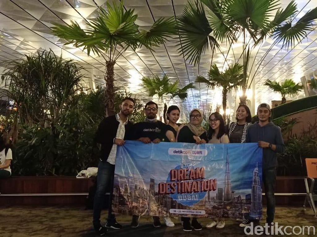 Senang Banget! d'traveler Akhirnya Berangkat ke Dubai