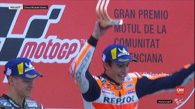 VIDEO: Marc Marquez Juara Dunia MotoGP 2019