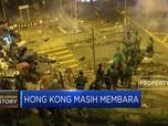 Panas! Kampus Jadi Medan Tempur Baru di Hong Kong